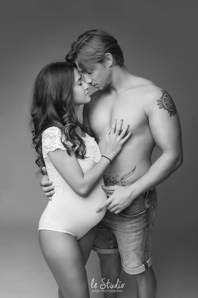 Couple et grossesse séance photo