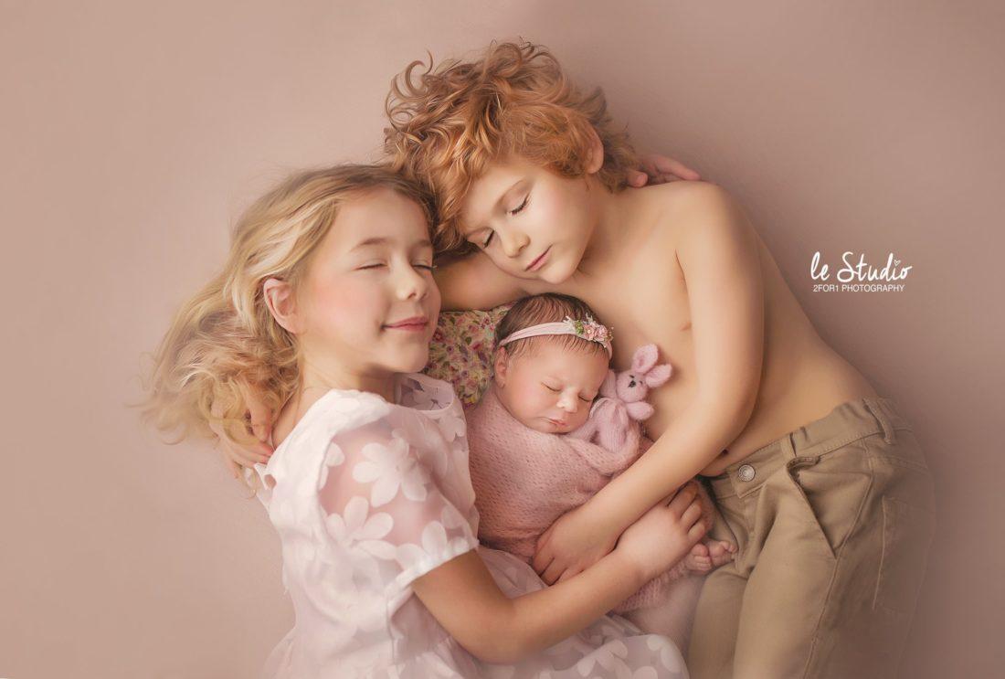 Photo naissance fratrie