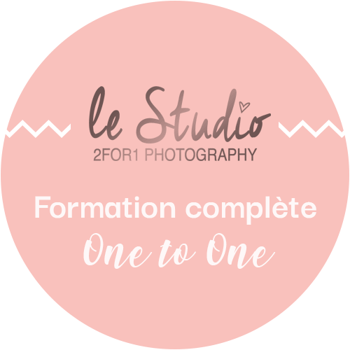 Formation complète photographe professionnel par le studio 2for1 Photography