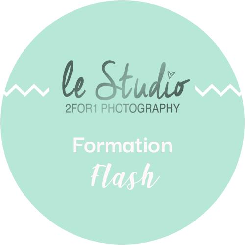 Formation flash photographe professionnel par le studio 2for1 Photography